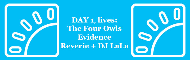 HipHopKempLive Day 1: The Four Owls, Evidence, Reverie + DJ LaLa