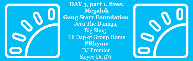 HipHopKempLive Day 3 Part 1: Megaloh, Gang Starr Foundation, PRhyme