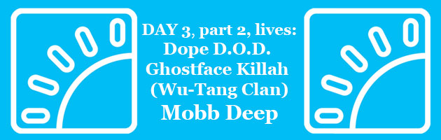 HipHopKempLive Day 3 Part 2: Dope D.O.D., Ghostface Killah (Wu-Tang Clan), Mobb Deep