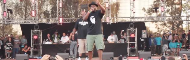 Gang Starr Foundation live @ #HipHopKemp2015 [Jeru The Damaja, Big Shug, Lil Dap of Group Home]