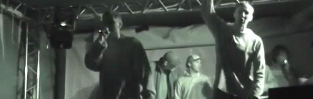 Ниггатив live @ Hip-Hop Rewolution, 09.07.2004, Москва