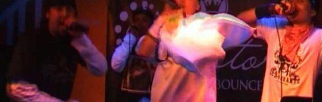 Ghetto Voice feat. Masta Bass (Fucktory) — In Da Club live @ Rossi's Club, SPb