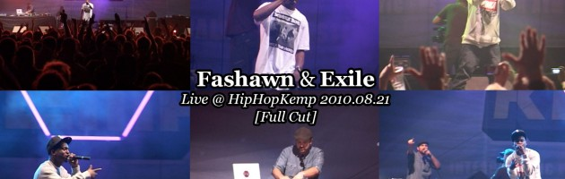 Fashawn & Exile • Live @ HipHopKemp 2010.08.21 [Full Cut]
