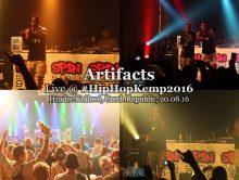 Artifacts • live @ Hip Hop Kemp 2016