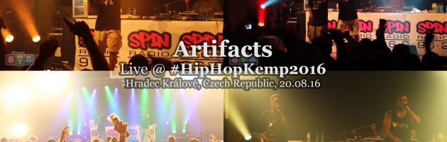 Artifacts • live @ Hip Hop Kemp 2016