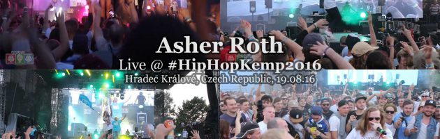 Asher Roth + Tede & DJ Buhh • live @ Hip Hop Kemp 2016