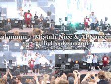 Lakmann + Mistah Nice & Al Kareem • live @ Hip Hop Kemp 2016