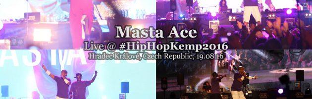 Masta Ace • live @ Hip Hop Kemp 2016