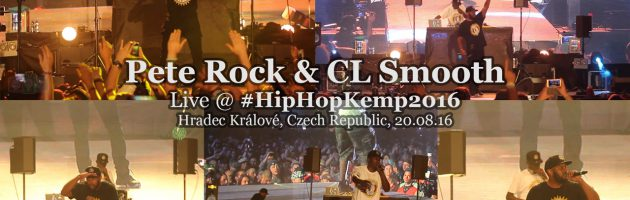 Pete Rock & CL Smooth • live @ Hip Hop Kemp 2016