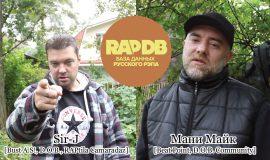Sir-J [Bust A.S!, D.O.B., RAPtila Camaradaz] + Мани Майк [Beat Point, D.O.B. Community] про RapDB.ru