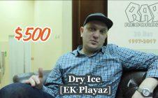 Dry Ice [EK Playaz] • про Rap Recordz • 20 Лет • Since 1997