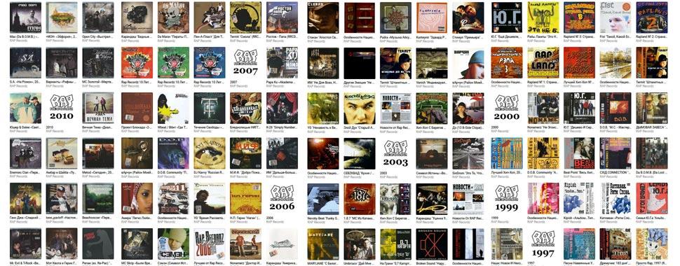 Все релизы лейбла Rap Recordz