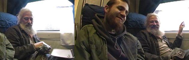 Дмитрий Гайдук + Георг Корг «Цывильные Сказки» в поезде Москва-СПб @ 08.10.2008