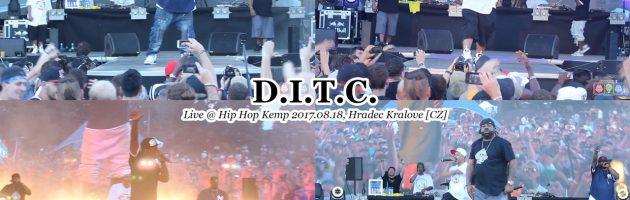 D.I.T.C. • Live @ #HipHopKemp2017.08.18, Hradec Kralove [CZ] #HHK2017