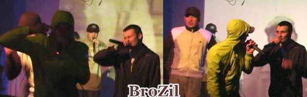 BroZil • Live @ Low Quality 2 Party • Цвет Граната • Москва • 20.02.2010