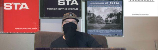 Jacques of S'T'A «Хип-Хоп В Латвии: от 1-го Лица» 2018