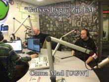 Mad [UGW] @ 'Gatvės Lyga' Zip FM, LT, 10.01.2018