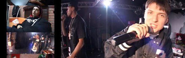 Константа • Backstage + Sound Check @ Зал Ожидания, СПБ, 02.10.2010