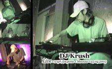 DJ Krush • Live @ Джусто • Москва • 25.04.2003