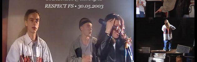 SoundCheck @ Коммуна • RESPECT FS • 30.05.2003