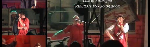Номинации + Live @ RESPECT FS • 30.05.2003