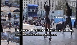 B-Boys • B-Girls • Dancers • Part 02 @ Adidas Streetball Challenge 2000.09.08