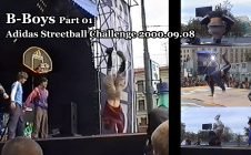 B-Boys Part 01 @ Adidas Streetball Challenge 2000.09.08