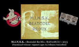 M.I.N.S.K. «Beatodel Re:Mix /RAN108CD/» 2013 (Rap'A Net)