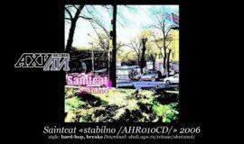 Saintcat «stabilno /AHR010CD/» 2006 (A-Hu-Li Records)